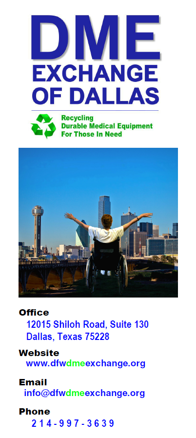 DME Exchange Brochure, December, 2013